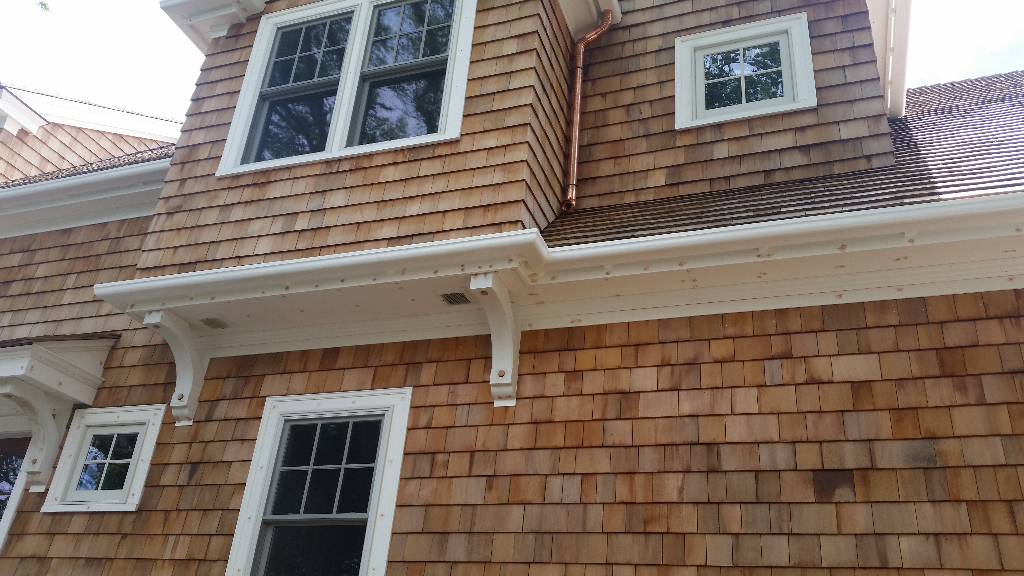 Detail Photo Gallery Wood Replacement Gutter The