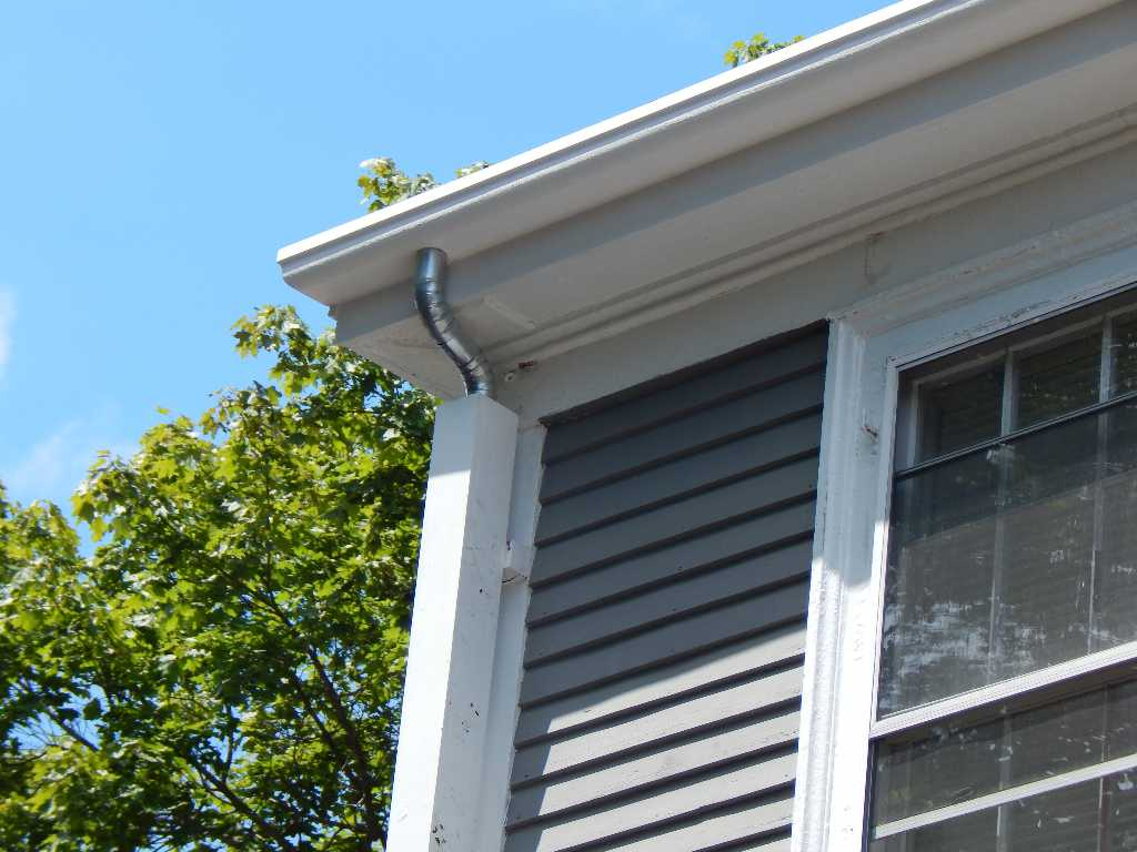 Custom Color Photo Gallery Wood Replacement Gutter The