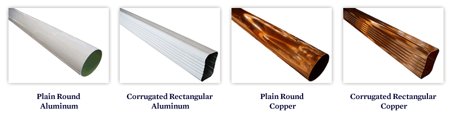 Fiberglass Gutter Options Wood Replacement Gutter The